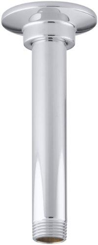 KOHLER K-7394-CP 6-Inch Ceiling Mount Showerarm