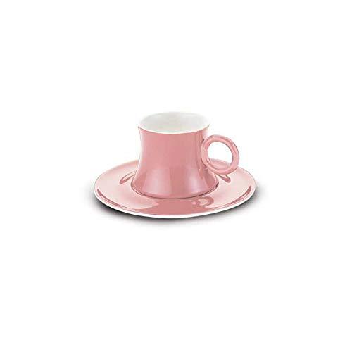Korkmaz Freedom A8668 | Mokkatassen für 6 Personen | Pink | Espressotassen Set