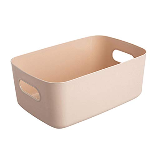 Dingyue Caja de plástico de escritorio Caja de almacenamiento Organizador de plástico Contenedor para cosméticos de escritorio Niñas