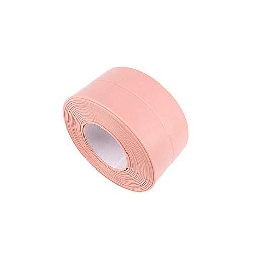 PVC Self Adhesive Tape Sealing Tape Shower Bathroom Kitchen Mold Proof Anti-moisture Waterproof Tape Caulk Strip Adhesive Sealer