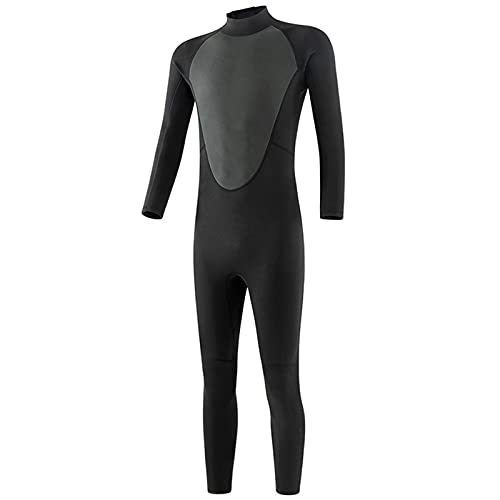WXHXSRJ Mens Wetsuits, Womens Long Sleeve Neoprene Wetsuits, 3MM Full Body Diving Suit, for Water Sports Diving Surfing Snorkeling,S