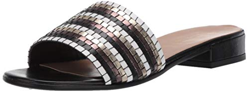 Bella Vita womens Slide Sandal, Black Multi, 5.5 US
