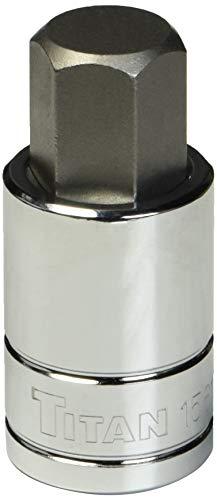 Titan 15617 1/2-Inch Drive x 17mm Hex Bit Socket
