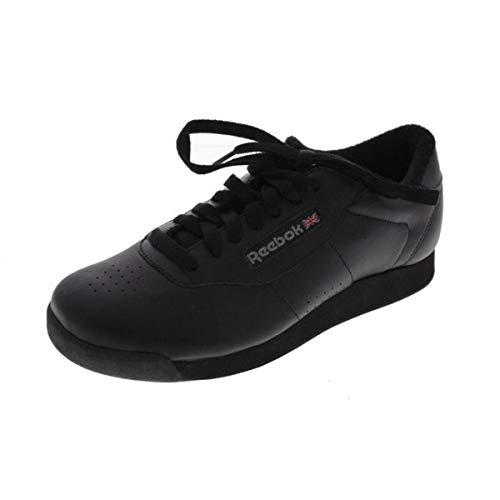 Reebok Women's Princess Aerobics Shoe, Black, 7 M