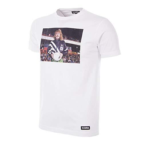 Copa Homes of Football Newcastle United Camiseta de Cuello Redondo para Hombre,...