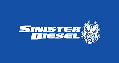"""SINISTER DIESEL POLISHED 304 STAINLESS STEEL EXHAUST TIP (4"""" TO 5"""")"""