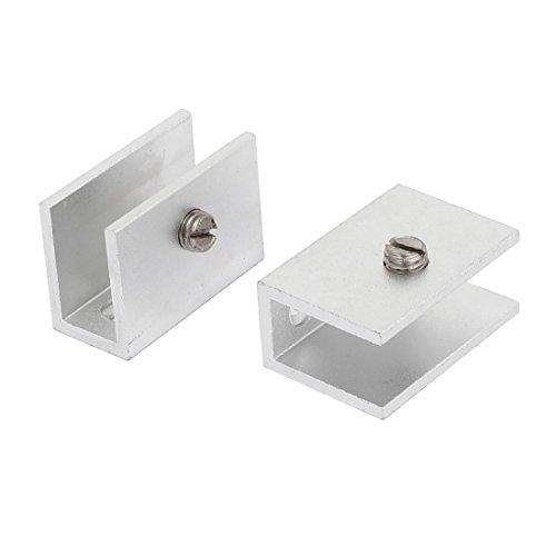Aexit 2 Zwingen, Klemmen & Spanner Stück 13mm Dicke Glas Schraube Verstellbare Klemmen Winkelspanner Clip Stützhalter