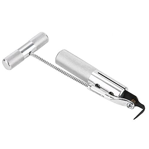 Herramienta de extracción de parabrisas, herramienta de extracción de vidrio de aleación de aluminio, para parabrisas de goma de sellado
