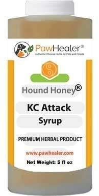 PawHealer Kennel Cough Syrup: Hound Honey - 5 fl oz - Natural Remedy for Kennel Cough & Dogs Love The Taste!