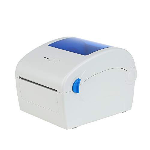 Zitainn Direkter Thermoetikettendrucker, Desktop Hochgeschwindigkeits-einstellbarer 1-4inThermaler Versandetikett Adressporto-Drucker