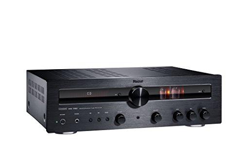Magnat MR 780 | HIGH-END-RÖHREN-HYBRIDRECEIVER MIT STARKER ENDSTUFE, Bluetooth® UND APTX(TM) - schwarz