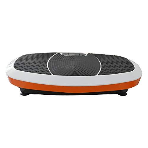 Placa de vibración de la máquina Power Gym Placas profesionales de Tecnología de vibración Trainer Con 3D espiral Massager eléctricas Formadores de vibración ( Color : Orange , Size : 78x40x14cm )