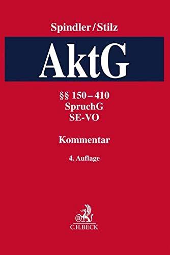 Kommentar zum Aktiengesetz Band 2: §§ 150-410, SpruchG, SE-VO
