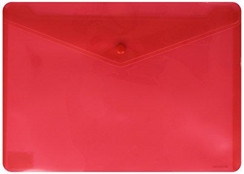 Carchivo 342K 12 - Sobre con broche velcro, de polipropileno, rojo, 1 unidad ✅