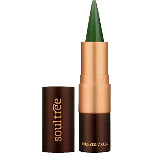 SoulTree Ayurvedic Kajal, 001 Fern Green Colour, 3 Gram