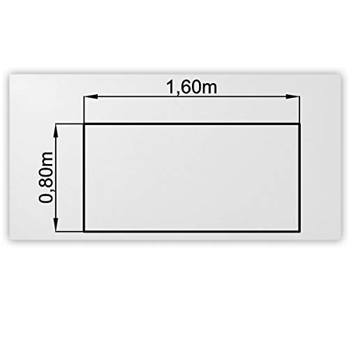 Bümö® stabile Tischplatte 2,5 cm...