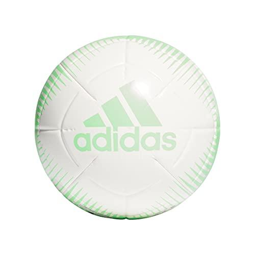 Adidas GU0245 EPP CLB Recreational Soccer Ball Mens White/Screaming Green 5