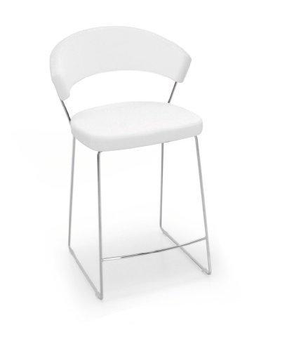 Calligaris New York Sedile Imbottito schienale imbottito sedia di ristorante e sala da...