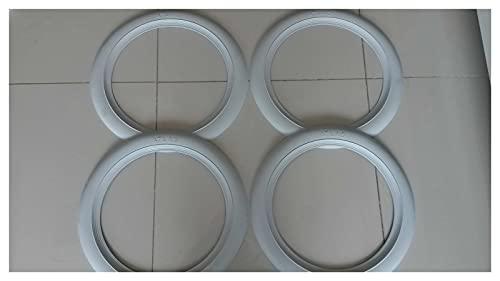 JINGDONG Jakedong Atlas 14 Pulgadas de Pared Blanca portawall Llantas de neumático Anillo de Goma x4 Confiable Original de Calidad Original Compatible Pieza Conveniente (Color : 15 Inch)