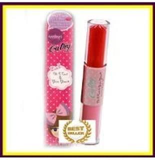 Karmart Cathy Doll 2 in 1 Vitamin C Tint tinted Gluta L-Glutathione Gloss Pink Lip ( by abobon )best sellers