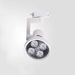 Precix 30W / 35W / 40W Grados de 360 ° Focos LED giratorios Tienda de ropa Decoración Techo Aluminio Iluminación comercial Lámpara de panel de techo Lámpara de panel de techo de ahorro de energía fo