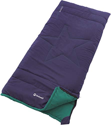 Outwell Champ Kids Schlafsack, blau, One Size