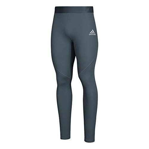 adidas AlphaSkin Long Tight Mens Training L Onix