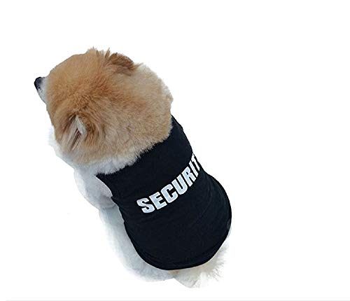 Legisdream Disfraz guardaespaldas Seguridad Animal Guardias de Seguridad guardaespaldas Perro XS