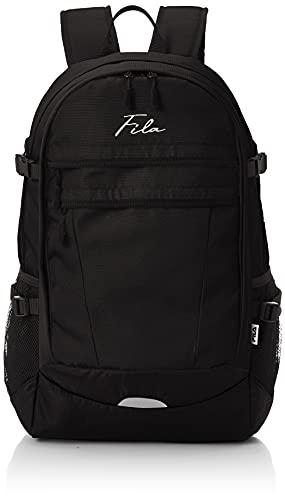[フィラ] 筆記体刺繍 大容量 ビック リュック FM2321 ブラック