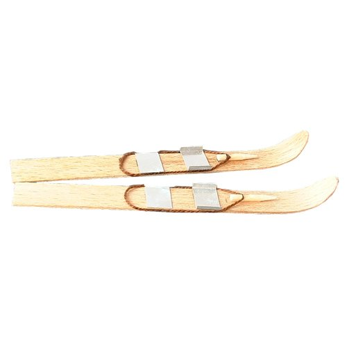 Mini Ski mit Bindung, ca. 10x1 cm, paarweise [Spielzeug]