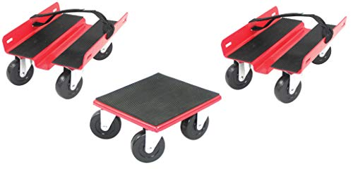 Extreme Max Red 5800.2000 Economy Snowmobile Dolly System