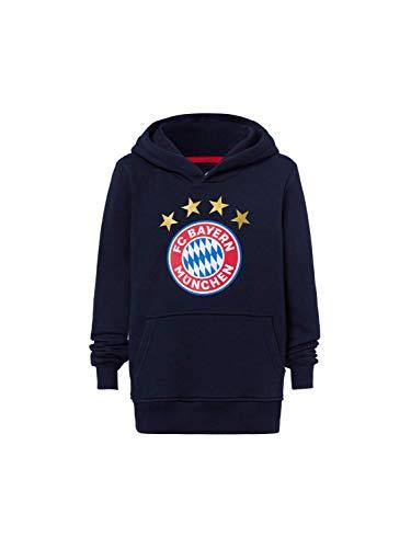FC Bayern München Hoodie Logo Navy Kinder, 128