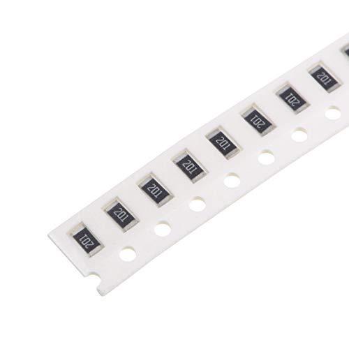Resistencia de chip SMD, 200 ohmios 1/4 W 1206 resistencias fijas tolerancias del 5% 300 piezas