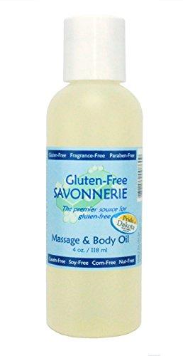Gluten-Free Savonnerie Massage and Body Oil 4 oz