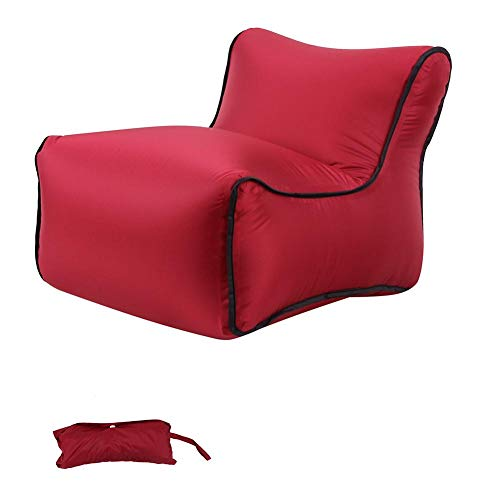 Urben Life Aufblasbare Couch, Ausziehbares Minisofa schnelles aufblasbares Sofa, tragbares Sofa für Outdoor-Aktivitäten und Reisen
