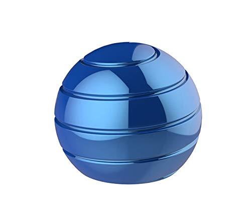 CaLeQi Kinetic Schreibtischspielzeug Office Metal Spinner Ball Gyroskop mit optischer Täuschung für Anti-urchmesser: 38mm