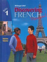 Discovering French, Nouveau!: Student Edition Level 1 2004 (English and French Edition)