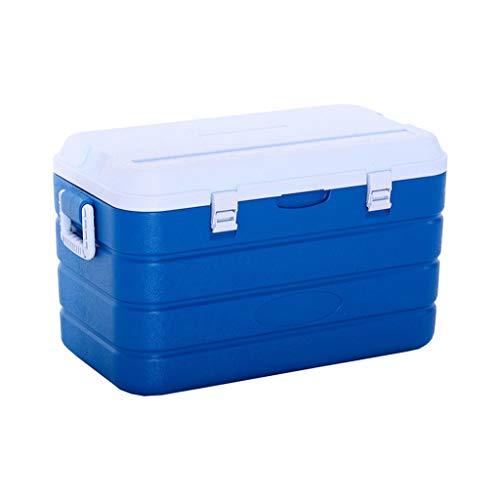 LIYANLCX Tragbare 90L Kapazität Kühlbox Mini-Kühlschrank Wärmeisolierte Kühlbox für Camping, BBQs, Heckklappen & Outdoor-Aktivitäten