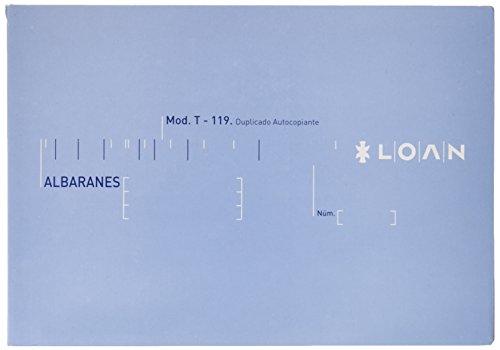 Loan T119 - Talonario, 10 unidades