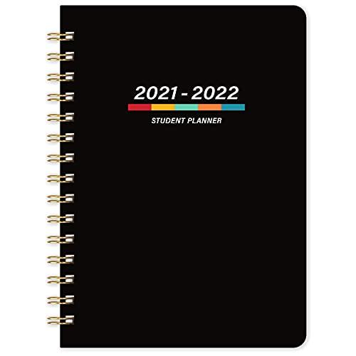 Student Study Academic Diary Planner 2021-2022 – A5 Week om Academisch Dagboek te bekijken vanaf jul 2021- jun 2022, 21…