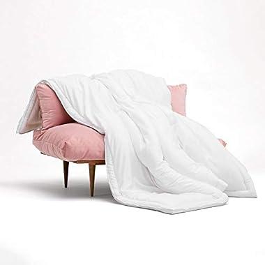 Buffy Comforter - Cloud King Comforter - Eucalyptus Fabric - Hypoallergenic Bedding - Alternative Down Comforter - King/Cal King
