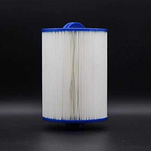 Weillis Filtereinsatz 17,5 x 15,2 cm Weiß Whirlpoolfilter Lamellenfilter AKU1609