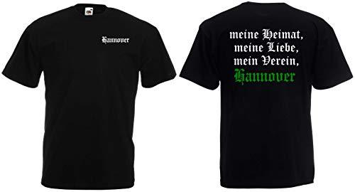 Hannover Herren T-Shirt Meine Heimat, Mein Verein
