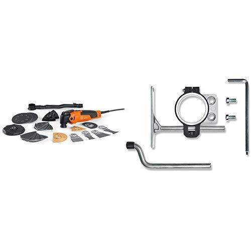 Fein (Multimaster) FMM 350 QSL MultiMaster Top, W, orange, 48 Stück + Fein (Multimaster) 32127069010 Tiefenanschlag