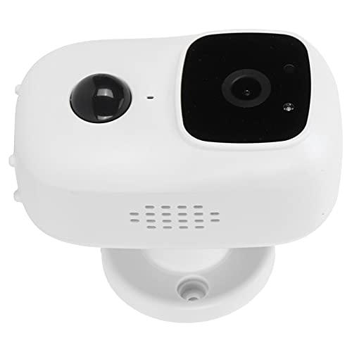 Inicio Cámara de vigilancia WiFi inteligente Intercomunicador visual Timbre de puerta Monitoreo inalámbrico Cámara de seguridad de bajo consumo APLICACIÓN 5V Teléfono móvil en tiempo real para monitor