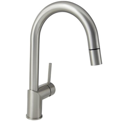 How To Mirabelle Mirxcra100ss Stainless Steel Ravenel Pullout Spray Kitchen Faucet With High Arch Gooseneck Spout Divina Cedillo