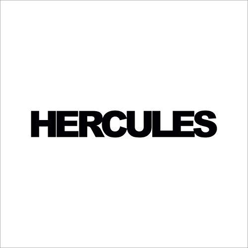 SUPERSTICKI 2X Hercules Schriftzug ca 20cm Motorrad Aufkleber Bike Auto Racing Tuning aus Hochleistungsfolie Aufkleber Autoaufkleber Tuningaufkleber Hochleistungsfolie für alle glatten Fläc