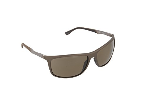Hugo Boss BOSS 0707/P/S 6L H0S Gafas de sol, Marrón (Brown Matte Ruthenium/Brown Pz Oleoph), 63 Unisex-Adulto