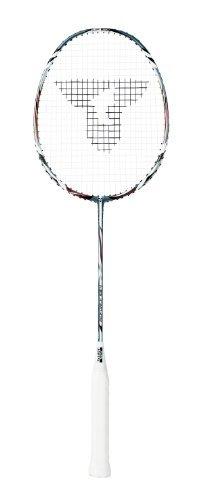 Talbot Torro Badmintonschläger Isoforce 1011.4, anthrazit-rot-silber, 439520 by Talbot Torro