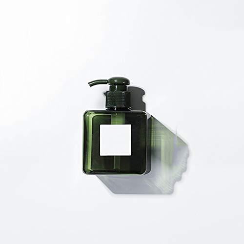 Dosificador de jabón Dispensador de jabón espumante, botellas de bombeo de plástico para jabón para jabón líquido, recipientes recargables para artículos de aseo y uso de cocina dosificador de jabón d